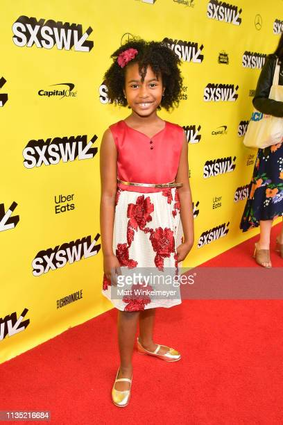 Calah Lane attends the The Day Shall Come Premiere 2019 SXSW Conference and Festivals at Paramount Theatre on March 11 2019 in Austin Texas