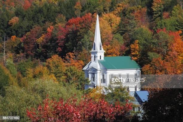 calais woodbury united church - rainer grosskopf stock-fotos und bilder