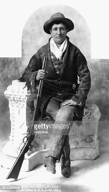 Calamity Jane a frontierswoman and crack shot who prided herself on being as good as any man and proved it by living a hard outdoor lifestyle and...