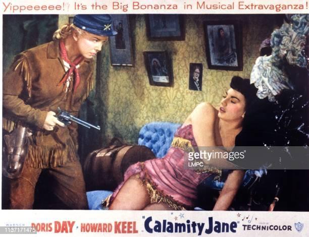 Calamity Jane poster Doris Day Allyn McLerie 1953