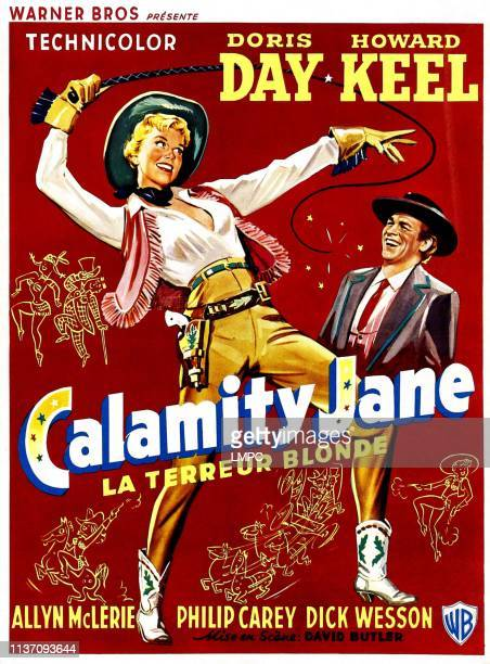 Calamity Jane poster Doris Day Howard Keel 1953