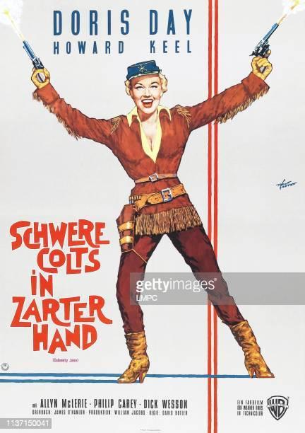 Calamity Jane poster German poster Doris Day 1953