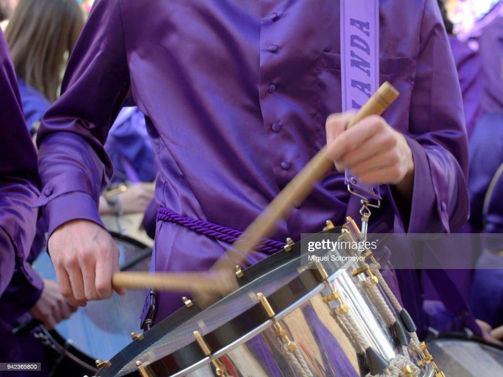 Calanda drums : Stock Photo