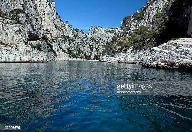 Calanques près de Cassis France sur la Méditerranée