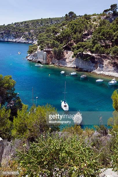 Calanques proximité de Cassis en Provence, France
