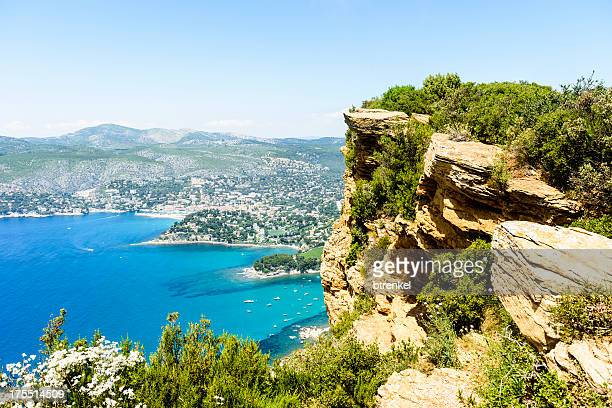 calanques - near marseille - cassis stock pictures, royalty-free photos & images