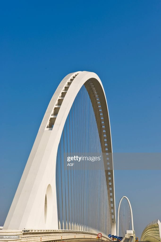 Calatrava bridge. Reggio Emilia. Italy Pictures | Getty Images