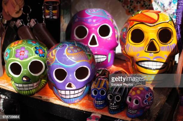 Calaveras (Skulls) in Puebla Mexico Dia de los muertos