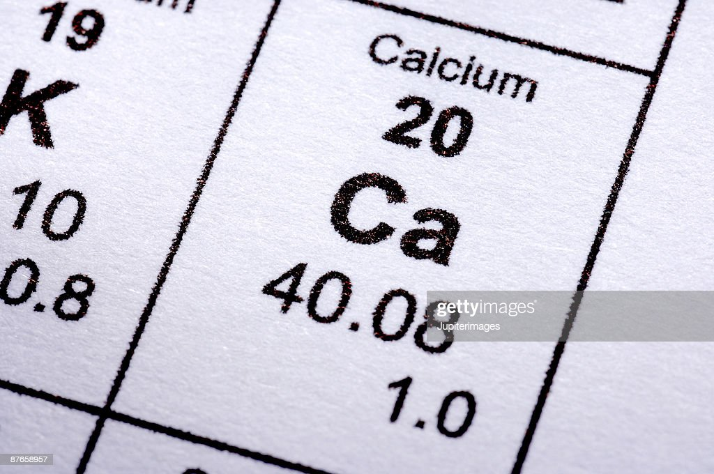 Calcium molecular formula : Stock Photo