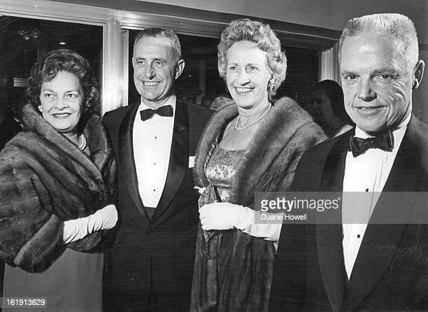 DEC 1 1964 DEC 4 1964 Calculated Risk Opens at Bonfils Theater Thursday Mrs Dayton Denious Donald Richardson Mrs Donald Richardson Dayton Denious