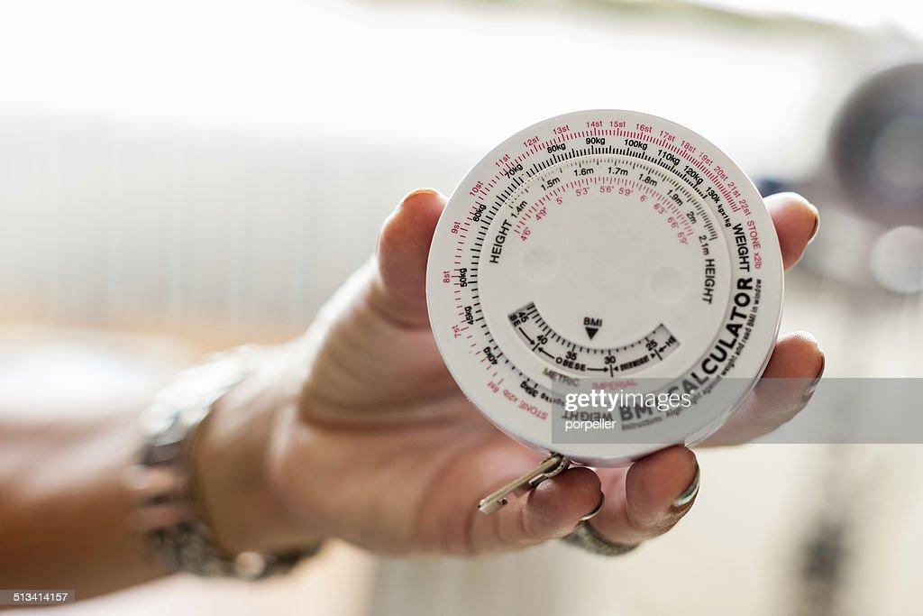 BMI Calculator : Stock Photo