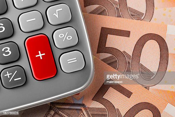 Calculadora con billetes
