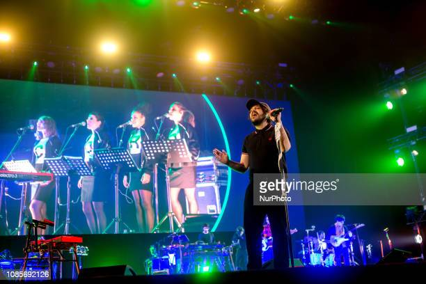 Calcutta performs live at Mediolanum Forum in Milano Italy on January 20 2019