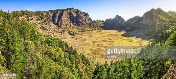 Cirque montagneux-Cova de Paúl, de Santo Antao, Cap Vert