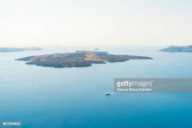 caldera, santorini - aegean sea stock pictures, royalty-free photos & images