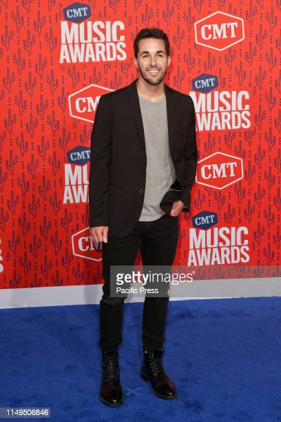 Cale Dodds attends the 2019 CMT Music Awards at the Bridgestone Arena in Nashville Tennessee