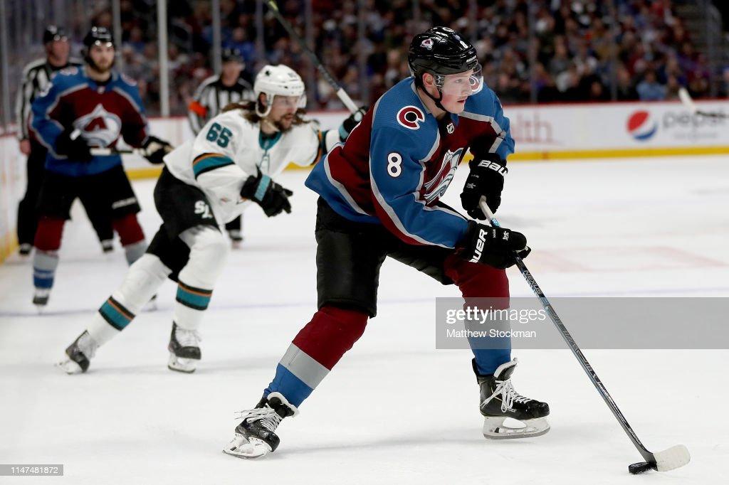 San Jose Sharks v Colorado Avalanche - Game Six : News Photo