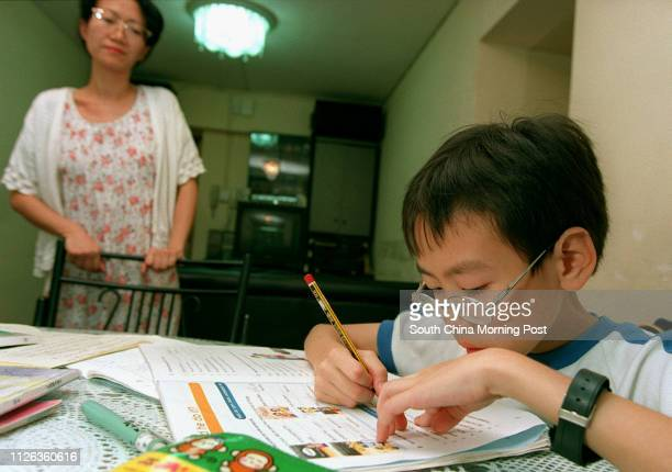 Caleb Cheung is said to have Attention Deficit Disorder a neurological disorder which makes it difficult to concentrate on work His mother Mrs Cheung...