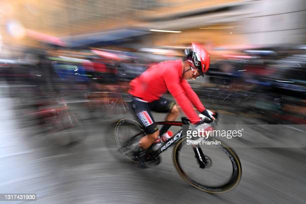 Caleb Ewan of Australia and Team Lotto Soudal at start during the 104th Giro d'Italia 2021, Stage 4 a 187km stage from Piacenza to Sestola 1020m /...
