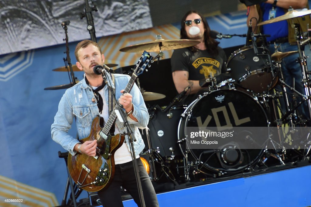"Kings Of Leon Perform On ABC's ""Good Morning America"""