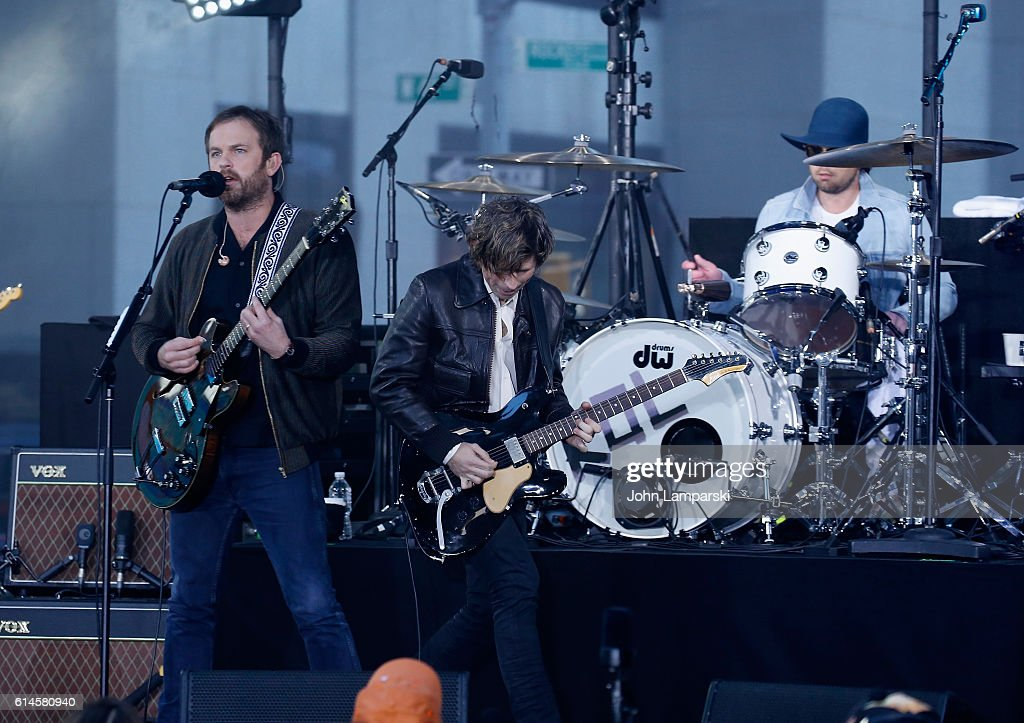"""Kings Of Leon Performs On NBC's """"Today"""""""
