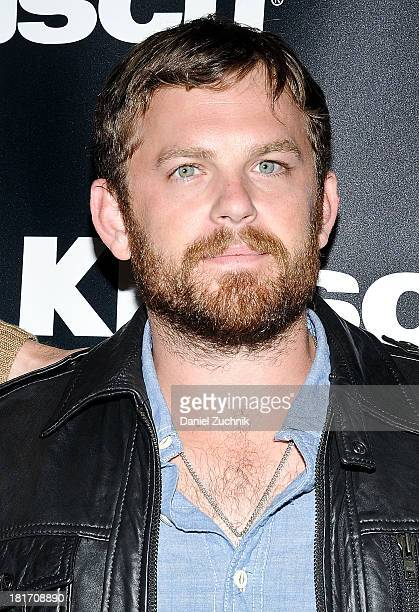 Caleb Followill of 'Kings of Leon' attends the Kings Of Leon 'Mechanical Bull' album listening and announcement event at the Electric Room at Dream...