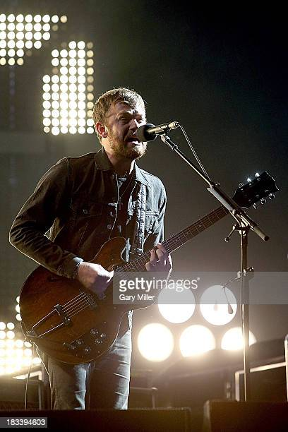 Caleb Followill of Kings of Leon performs in concert during day two of the Austin City Limits Music Festival at Zilker Park on October 5, 2013 in...