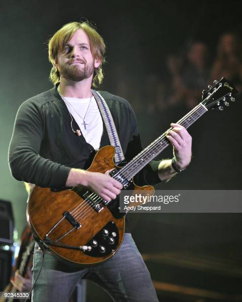 Caleb Followill of Kings of Leon performs on stage on Day 1 of Austin City Limits Festival 2009 at Zilker Park on October 2, 2009 in Austin,...