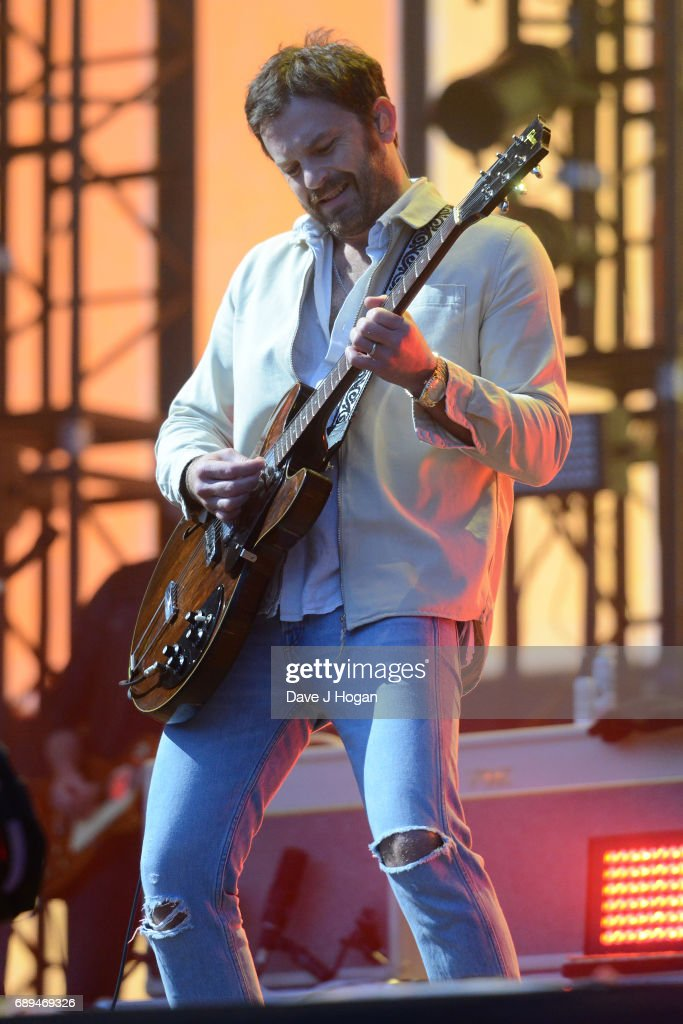 Caleb Followill of the band Kings of Leon attends Day 2 of BBC Radio 1's Big Weekend 2017 at Burton Constable Hall on May 28, 2017 in Hull, United Kingdom.