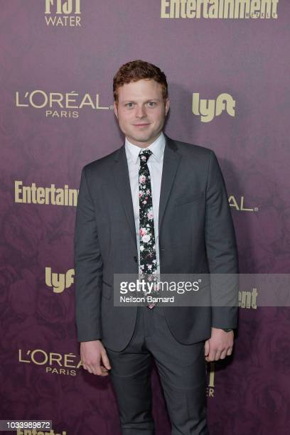 Caleb Foote attends the 2018 PreEmmy Party hosted by Entertainment Weekly and L'Oreal Paris at Sunset Tower on September 15 2018 in Los Angeles...