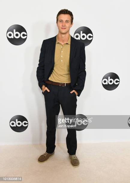 Caleb Foote attends the Disney ABC Television TCA Summer Press Tour at The Beverly Hilton Hotel on August 7 2018 in Beverly Hills California