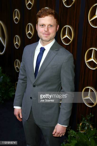 Caleb Foote attends the MercedesBenz USA Awards Viewing Party at Four Seasons Los Angeles at Beverly Hills on February 24 2019 in Los Angeles...