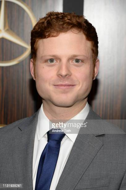 Caleb Foote attends the MercedesBenz USA's Oscars viewing party at Four Seasons Hotel Los Angeles at Beverly Hills on February 24 2019 in Los Angeles...