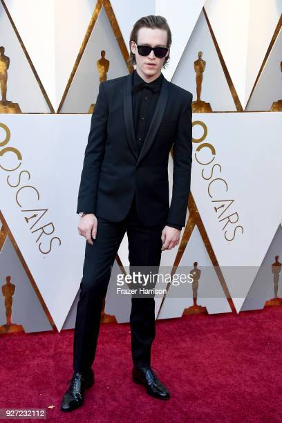 Caleb Landry Jones attends the 90th Annual Academy Awards at Hollywood Highland Center on March 4 2018 in Hollywood California