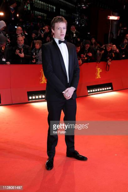 Caleb Landry Jones attends the The Kindness Of Strangers premiere during the 69th Berlinale International Film Festival Berlin at Berlinale Palace on...