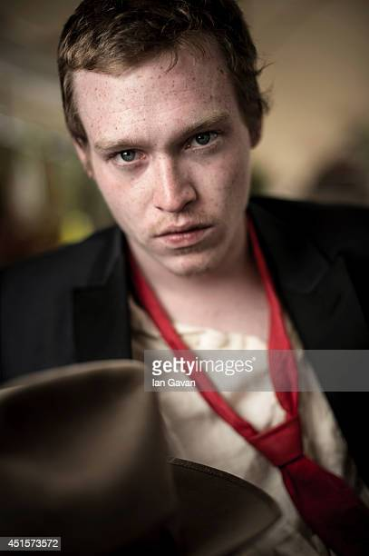 Caleb Landry Jones is photographed at The 67th Annual Cannes Film Festival on May 17 2014 in Cannes France