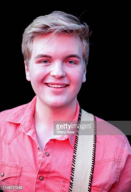 Caleb Lee Hutchinson attends Citi Presents Maddie Poppe Live At The Grove on May 16 2019 in Los Angeles California