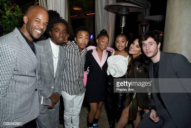 Caleb McLaughlin, Asante Blackk, Eris Baker, Lexi Underwood, Carmela Zumbado, and James Scully are seen as Entertainment Weekly Celebrates Screen...