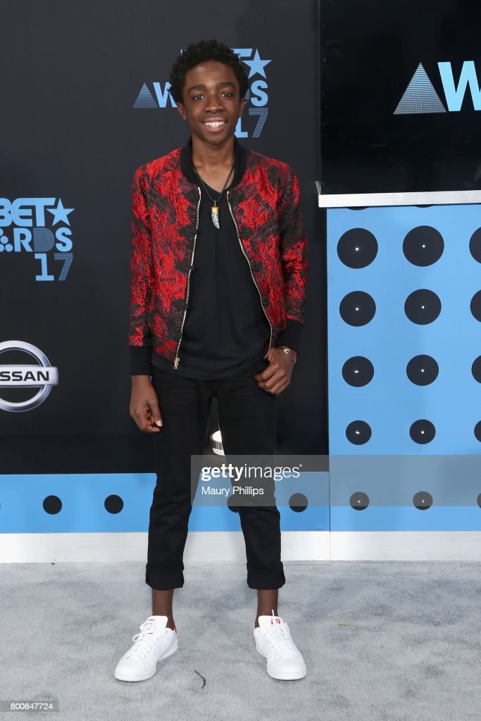Caleb McLaughlin at the 2017 BET Awards at Microsoft Square on June 25, 2017 in Los Angeles, California.