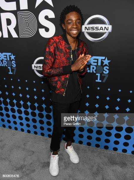 Caleb McLaughlin at the 2017 BET Awards at Staples Center on June 25 2017 in Los Angeles California