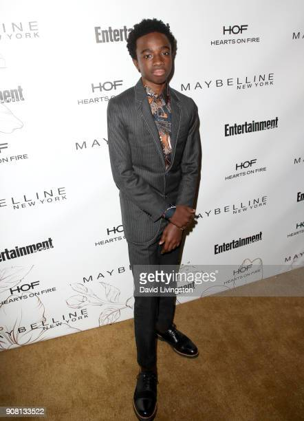 Caleb McLaughlin attends Entertainment Weekly's Screen Actors Guild Award Nominees Celebration sponsored by Maybelline New York at Chateau Marmont on...