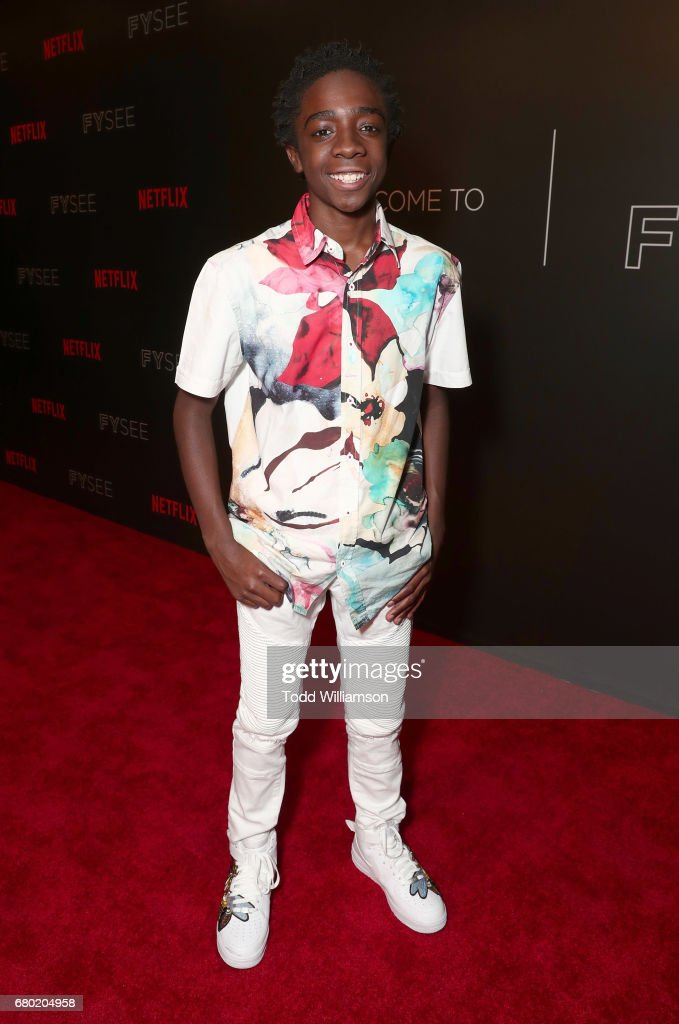 Caleb McLaughlin attends Netflix's FYSEE Kick-Off Event at Netflix FYSee Space on May 7, 2017 in Beverly Hills, California.