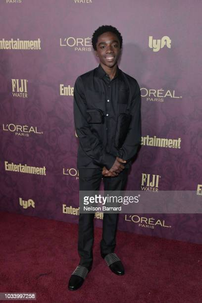 Caleb McLaughlin attends the 2018 PreEmmy Party hosted by Entertainment Weekly and L'Oreal Paris at Sunset Tower on September 15 2018 in Los Angeles...