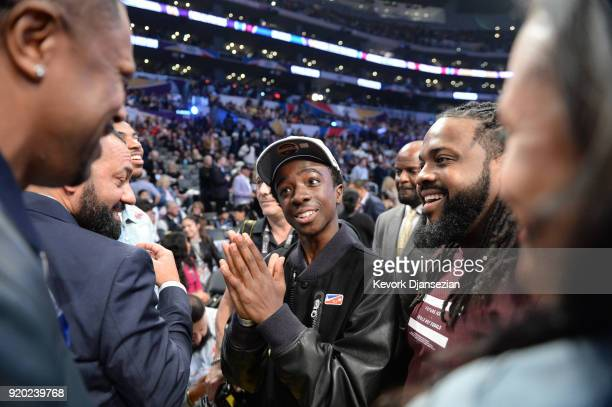 Caleb McLaughlin attends the NBA AllStar Game 2018 at Staples Center on February 18 2018 in Los Angeles California