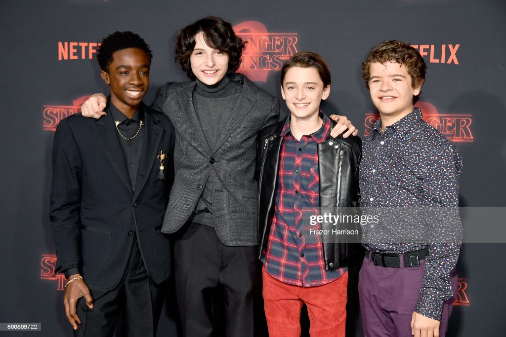 "Premiere Of Netflix's ""Stranger Things"" Season 2 - Arrivals : News Photo"