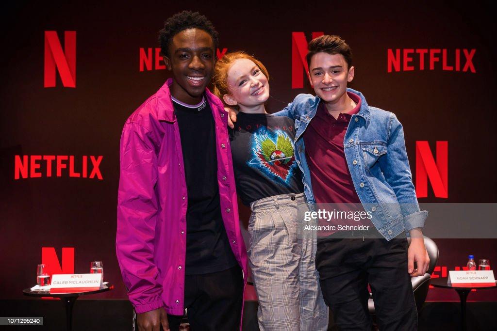 """Netflix Original Series """"Stranger Things"""" Press Conference : Photo d'actualité"""