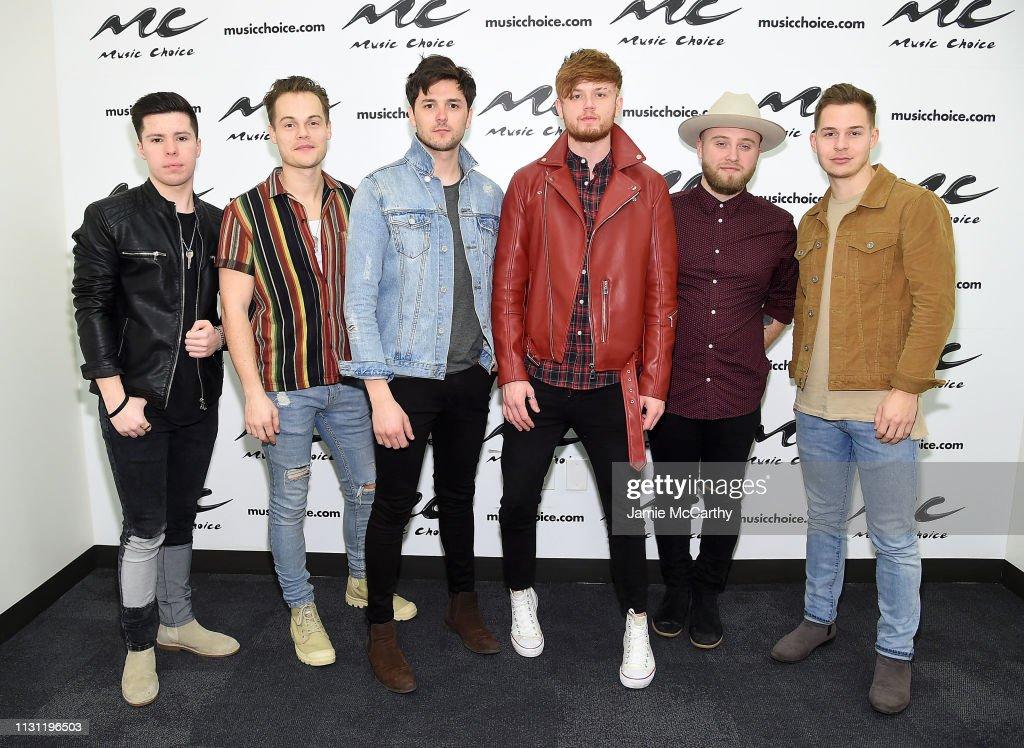 NY: King Calaway Visits Music Choice