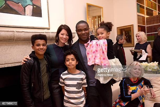 Caleb Oyelowo Jessica Oyelowo Asher Oyelowo David Oyelowo and Zoe Oyelowo attend Barbara Broccoli and Walt Disney Studios Host a Screening and...