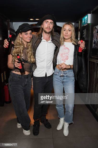 Caleb Rowen attends a VIP event in celebration of Elijah Rowen's birthday at ICEBAR on August 17 2019 in London England