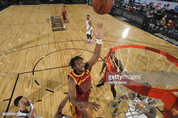 Caleb Swanigan of the Canton Charge shoots the ball against the Northern Arizona Suns during the GLeague Showcase on January 12 2018 at the Hershey...